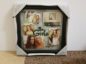 Picture Frame New View Glass Float Collage Frame The Girls 2009 Black Kohls