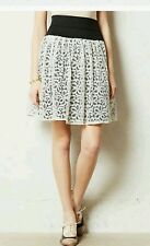 NWT Anthropologie By HD in Paris Ninette Skirt bubble MEDIUM tulle black white