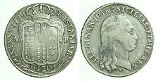 pci0274) Napoli regno Ferdinando IV grana 120 piastra 1796