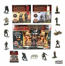 McFarlane Game of Thrones Collection! (Iron Throne, Banner Packs, 12 Figure Set)