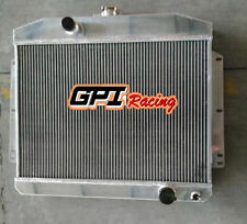 FOR Mercury W/Chevy 350 5.7 V8 MT 1949 -1951  aluminum radiator 62mm