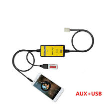 Digital USB MP3 Aux 3.5mm Audio In Adapter Interface For Camry Corolla Highland