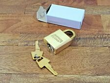 New listing 1 New American Brass Lock For 1 Low Price - Super Heavy Duty Free Shipping Lot