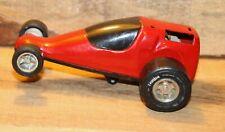 """Vintage TONKA 1960's Drag Racer Car 6"""" Long Hard To Find +"""