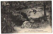 CPA 77 - Forêt de FONTAINEBLEAU (Seine et Marne) - 117. L'entrée de la Caverne
