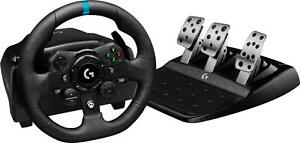 Logitech G923 Racing Wheel and Pedals for Xbox Series, Xbox One, PS 4, PS5, PC