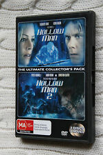 Hollow Man  / Hollow Man 02 (DVD, 2007, 2-Disc Set), Like new, free shipping
