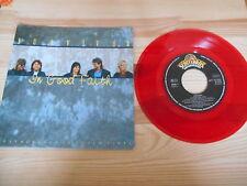 "7"" Rock Survivor - In Good Faith SCOTTI BROS / Colored Vinyl"