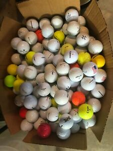 60  Pinnacle, TaylorMade, Top Flite  & others types  AA + golf balls