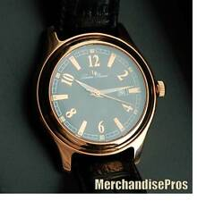 LUCIEN PICCARD ROSE GOLD 1923 SPECIAL COLLECTION MEN'S DRESS WATCH 26974RO NEW!