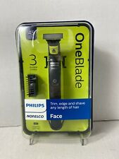 Philips Norelco OneBlade Hybrid Wet/Dry Electric Trimmer/Shaver w/3 Combs Sealed