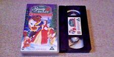 Beauty And The Beast The Enchanted Christmas WALT DISNEY UK VHS PAL VIDEO 2003