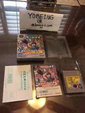Rockman World 5 Mega Man JAPAN 100% Complete CIB Gameboy Game Boy Megaman PICS!