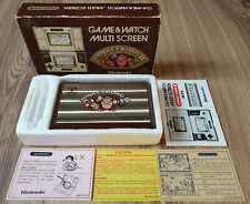 BOXED DONKEY KONG II 2 NINTENDO GAME & WATCH MULTI SCREEN JR-55 1983 RARE