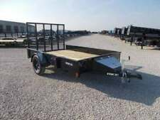 2020 Rice Trailers Stealth 76X10' Single Axle Solid Side Utility Trailer