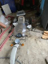 Moto GUZZI throttle, handlebar switch, body cage, gear lever, brake lever, side
