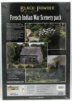 Black Powder 809010001 French Indian War Scenery Pack (Sarissa) FIW Terrain NIB