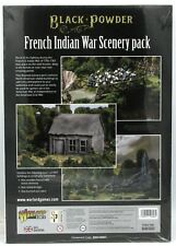 Black Powder 809010001 French Indian War Scenery Pack (Sarissa) FIW Terrain NIB