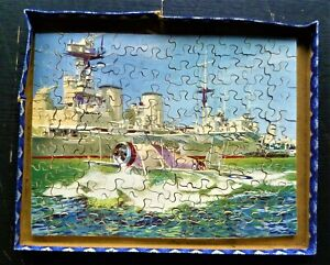 Vintage Victory Wooden Jigsaw Puzzle.