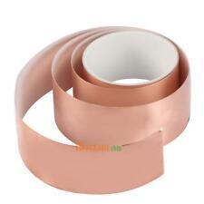 50mm x2M Copper Foil Tape EMI Shielding Guitar Slug Snail Barrier #ORP