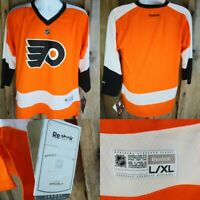 Philadelphia Flyers Reebok Youth Replica Jersey L/XL Officially Licensed NHL NEW