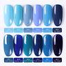 BORN PRETTY 6ml UV Gel Nail Polish Blue Series Soak off Nail Art UV Gel Colors