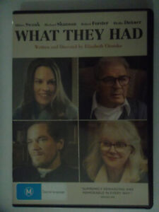 What They Had (DVD, 2019)