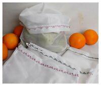 10 Stück Obstbeutel Gemüsenetz wiederverwendbar umweltschonend Einkaufsnetz