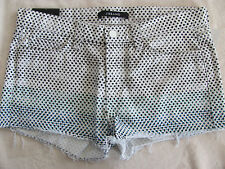 J Brand Cut Off Shorts - Ombre Dot -Low Rise - Size 27 - NWT $165