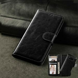 For  Apple phone 12 Pro Max Case, 2 in 1 Magnetic Flip Leather Wallet with Stand