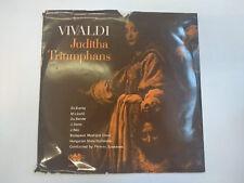 """Vivaldi – Juditha Triumphans (LPX 11359-60) 12"""" Vinyl Double LP Qualiton  VG/G"""
