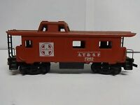 Vintage Tyco HO Scale Santa Fe A.T.&S.F. 7240 Caboose Model Railroad Train Car E