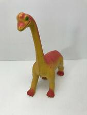 Vintage 1985 Imperial Brontosaurus Dinosaur Toy made in Hong Kong