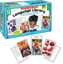 Carson Dellosa Key Education Early Learning Language Library Learning Cards (845