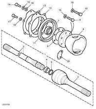 Dichtsatz Achsschenkelgehäuse Defender/Discovery/RRC