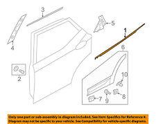 HYUNDAI OEM 13-15 Santa Fe Rear-Window Sweep Belt Felt Molding Left 83210B8000