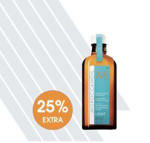 Moroccanoil Treatment Light 100ml +25% FREE - trusted seller