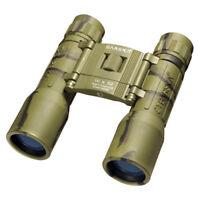 Barska 16x 32 binoculars Lucid Camo Compact w/ Case & Rubber Armor, AB10123