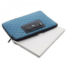 ChromeBook or MacBook Air Laptop Sleeves 11 inch  Knomo London Quilted Nylon