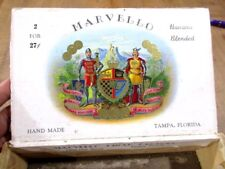 Vintage Empty Cigar Box Marvello Factory Tampa Florida >