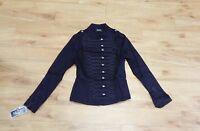 H & R / Black / Military-Band Jacket / Emo / 8-10-12-14-16 - 1054