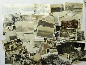 COLLECTION of 50 - RPPC Real Photo Postcard Various Subjects- PC4