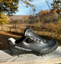 BONTRAGER Foray Mountain Cycling Shoes Shimano cleats Mens Black EUR 43 US 10