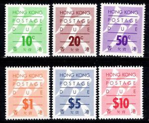 Hong Kong 1987 Mi. 26-31 MNH 100% postage due
