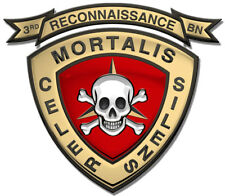 """3rd USMC Force Recon Metal Sign- All Metal Sign 16 x 18"""""""