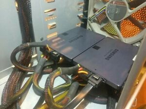 """Double SSD Caddy - 2 x 2.5"""" drive into a 5.25"""" bay - Caddy - Holder - Bracket"""
