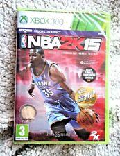 XBOX 360: NBA 2K15. INCLUYE COMENTARISTAS EN CASTELLANO Y DURANT BONUS PACK. NEW
