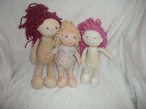 3 HABA Puppen,Kleidung in anderen Auktionen **