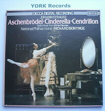 D225D 2 - STRAUSS - Cinderella BONYNGE National PO - Ex Con 2 LP Record Box Set