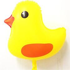 yellow ducks aluminum balloon ball children birthday party decor baby/kids gift